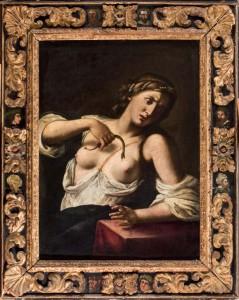 Lote 74, Subasta 523, Circulo de Guido Reni, Cleopatra. Septiembre 2015. Durán Arte y Subastas.
