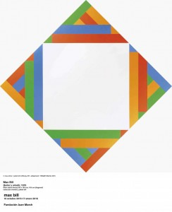 Quitar y añadir, Max Bill, 1975. Fundación Juan March, Madrid, 2015.