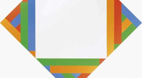 Max Bill, Quitar y añadir, Óleo sobre lienzo, 100 x 100 cm., 1975. Colección Chantal y Jakob Bill. Max Bill, Fundación Juan March. Madrid, 2015. Cortesía: Fundación Juan March.