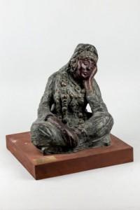 Lote 663, Subasta 524, Mérien Mézian, Mujer pensante. Octubre 2015. Durán Arte y Subastas.