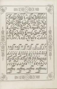 Caligrafía española. Pedro Díaz Morante, Arte nueva de escribir, 1776. BNE. Madrid, 2015.