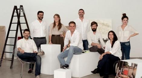 El equipo de WeCollect Club. Cortesía WeCollect Club. Madrid, 2015.