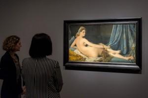 """Vista de la exposición """"Ingres"""". Foto © Museo Nacional del Prado."""