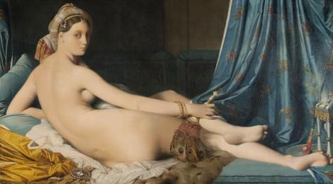 La gran Odalisca,Jean-Auguste-Dominique, Ingres, 1814,óleo sobre lienzo, 91 x 162 cm.París, Musée du Louvre, département des Peintures, Acquis en 1899. Cortesía: Museo Nacional del Prado. Madrid, 2015.