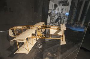 Vista de la exposición Julio Verne. Los límites de la imaginación. Espacio Fundación Telefónica, Madrid, 2016.