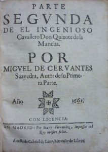 Lote 3253, Subasta 529, Miguel de Cervantes, Don Quixote de la Mancha. Marzo 2016. Durán Arte y Subastas.