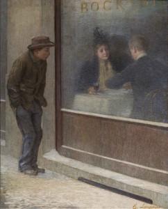 Riflessioni di un affamato. Emilio Longoni,1893. Fundación Mapfre. Madrid, 2016.