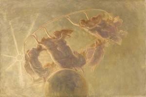 La danza delle ore. Gaetano Previati,1899. Fundación Mapfre. Madrid, 2016.