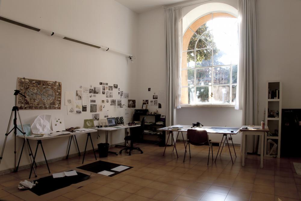 Estudio Almudena Lobera en Academia de España. Index Roma. Academia de Bellas Artes de San Fernando Madrid, 2016.