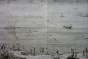 Lote 3176, Subasta 531, Antonio Sañez Reguart, Diccionario histórico de los artes de la pesca nacional. Abril 2016. Durán Arte y Subastas.