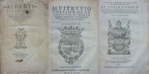 Lote 3197, Subasta 531, Tres tratados de Durero, Vitruvio y Ioan de Arphe. Abril 2016. Durán Arte y Subastas.