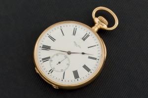 Lote 469, Subasta 531, Reloj bolsillo Ulysse Nardin, oro 18K. Abril 2016. Durán Arte y Subastas.