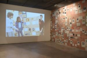 Sin Título. Detalle exposición. Espacio Fundación Telefónica, Madrid, 2016.