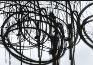 Lo Nunca Visto. Otto Steinert, Lampen der Place de la Concorde 3 [Farolas de la Place de la Concorde 3], 1952. Fundación Juan March, Madrid, 2016.