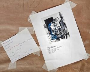 """Estudio de la obra de Pablo Picasso """"Le peintre au travail"""", 1964. Exposición Sin Título. Espacio Fundación Telefónica. Madrid, 2016. Cortesía: Espacio Fundación Telefónica."""