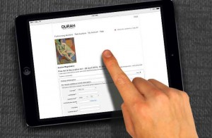 """Nuevo servicio de pujas en vivo a través de Internet """"Live Bidding"""". Foto: Durán Arte y Subastas."""
