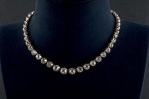 Lote 241, Subasta 532, Collar de diamantes, Duquesa de Abrantes. Mayo 2016. Durán Arte y Subastas.
