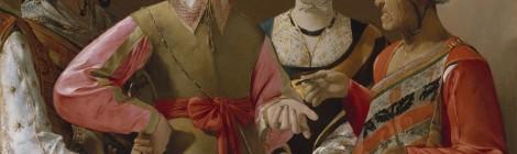 La Buenaventura, Georges de La Tour. Óleo sobre lienzo, 102 x 123 cm. Nueva York, Lent by The Metropolitan Museum of Art, Rogers Fund, 1960 (60.30). Foto © Museo Nacional del Prado. Cortesía: Museo Nacional del Prado, Madrid, 2016.