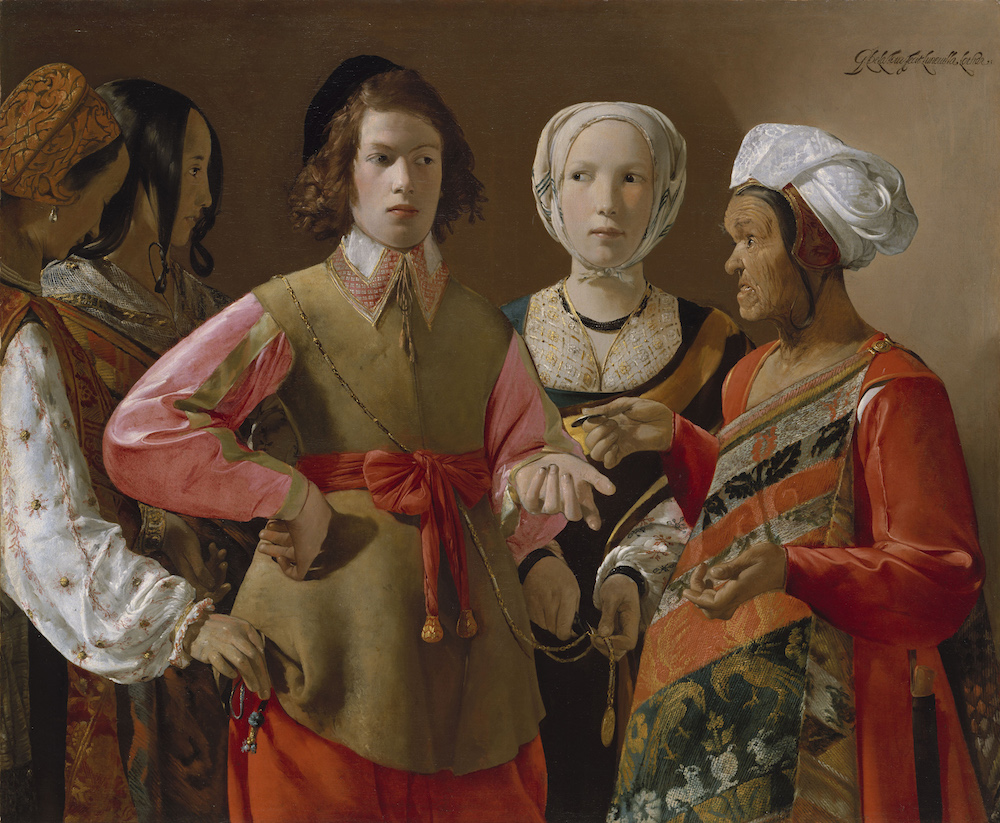 Georges de La Tour. 1593-1652. La Buenaventura. Museo Nacional del Prado.