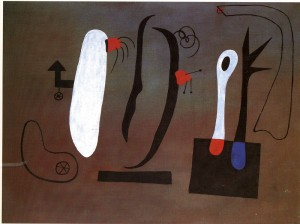 Pintura (1933), Joan Miró. CaixaForum Madrid, 2016.