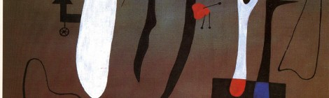 Joan Miró, Pintura, 1933. Óleo sobre tela, 97 x 130 cm. LaM, Lille musée d'art moderne, d'art contemporain et d'art brut, Villeneuve d'Ascq. Donación de Geneviève y Jean Masurel © Successió Miró, 2015. Cortesía: CaixaForum Madrid, 2016.