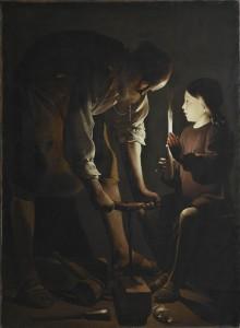 Georges de La Tour. 1593-1652. San José carpintero. Museo Nacional del Prado.