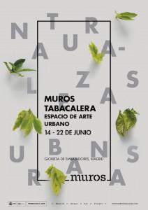 Muros Tabacalera 2016. Invitación. Madrid 2016.