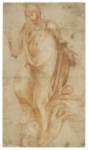 Alonso Berruguete, Cristo Salvador, h. 1555. RABASF, Madrid, 2016.