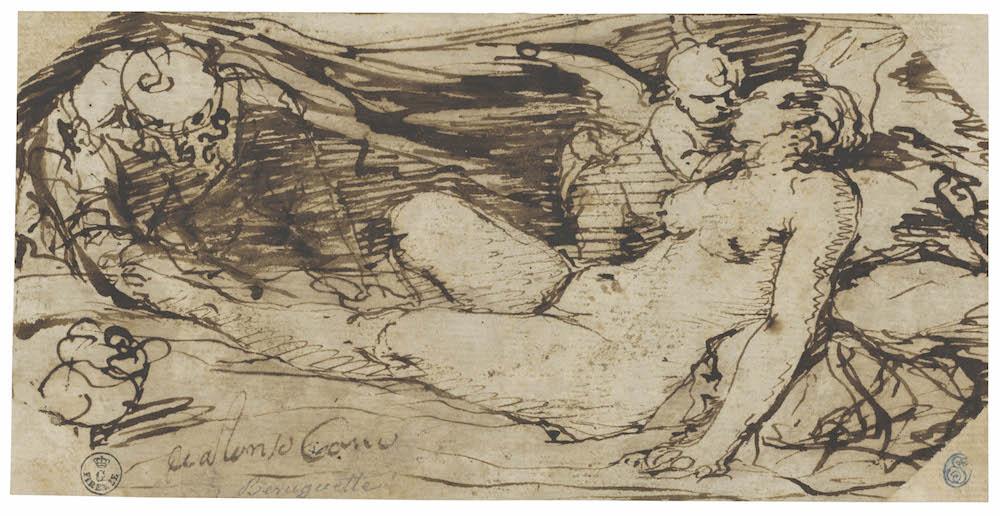 Alonso Cano, Venus, Cupido y un sátiro, h. 1655-60. RABASF, Madrid, 2016.