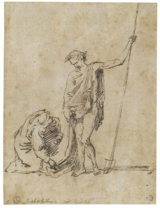 José de Ribera. Noli me tangere, h. 1625. RABASF, Madrid, 2016.