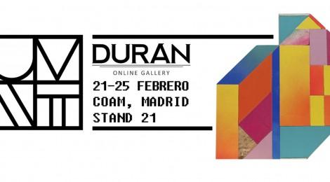 Durán Online Gallery en la feria de arte urbano Urvanity