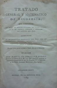 Lote 3172, Subasta 534, Tratado general y matemático de reloxeria, 1789. Junio 2016. Durán Arte y Subastas.