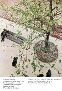Gustave Caillebotte, El bulevar visto desde arriba, 1880. Museo Thyssen-Bornemisza, Madrid,