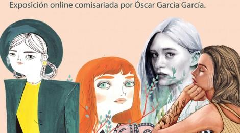 """iDrawing"""", artistas invitadas en Durán Online Gallery"""