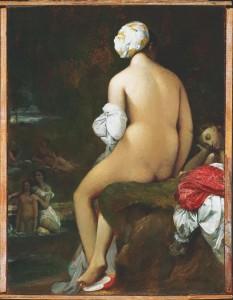 Jean-Auguste-Dominique Ingres, La pequeña bañista, 1826. CaixaForum Madrid, 2016.