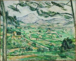 Paul Cézanne, Montaña Sainte-Victoire, 1886-1887. CaixaForum Madrid, 2016.
