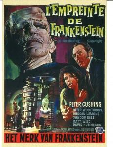 """""""La maldad de Frankenstein"""", Hammer Film Productions, 1961. Espacio Telefónica, Madrid, 2016."""