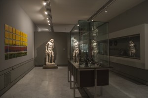 """Nico Munuera, """"Frame time IV"""". © Tofiño. Cortesía: Museo Lázaro Galdiano, Madrid, 2016."""