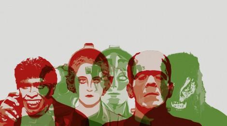 """Imagen de la exposición """"Terror en el laboratorio: de Frankenstein al Doctor Moreau"""". Espacio Telefónica. Cortesía: Espacio Telefónica, Madrid, 2016."""