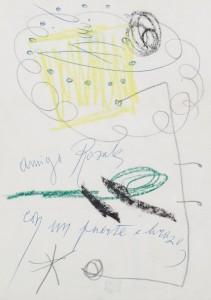 Lote 179, Subasta 536, Joan Miró Ferrá, Dos composiciones. Octubre 2016. Durán Arte y Subastas.