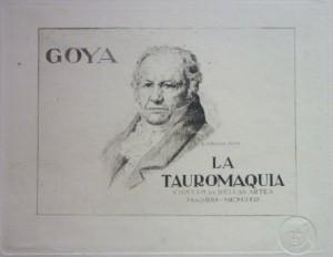 Lote 3103, Subasta 536, Francisco de Goya, Tauromaquia, grabados. Octubre 2016. Durán Arte y Subastas.