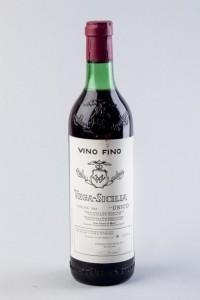 Lote 464, Subasta 536, Lote de 6 botellas de Vega Sicilia Único, cosecha de 1942. Octubre 2016. Durán Arte y Subastas.