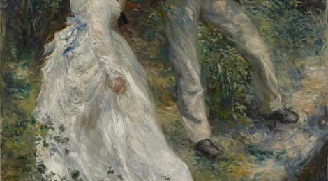 Pierre-Auguste Renoir, El paseo, 1870. Óleo sobre lienzo. 81,3 x 64,8 cm. Los Angeles, The J. Paul Getty Museum Cortesía: Museo Thyssen-Bornemisza, Madrid. 2016.