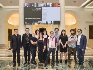 Multiverso, Fundación BBVA. Artistas participantes. Cortesía: Fundación BBVA, Madrid, 2016.