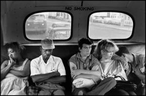 Bruce Davidson, Brooklyn, Nueva York, 1959. Cortesía: Fundación Mapfre, Madrid, 2016.