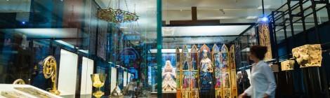 Los pilares de Europa. La Edad Media en el British Museum. Vista de la exposición. Cortesía: CaixaForum Madrid, 2016.