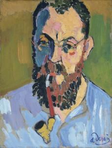 """André Derain, """"Henri Matisse"""", 1905. Los Fauves. Fundación Mapfre, Madrid, 2016."""