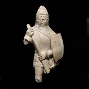 Los pilares de Europa. Estatuilla de un caballero, 1375-1425. CaixaForum Madrid, 2016.