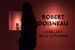 Robert Doisneau, La belleza de lo cotidiano. Detalle de la exposición. Fundación Canal, Madrid, 2016.