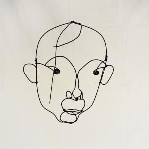 Alexander Calder, Retrato de Joan Miró, c. 1930. Cortesía: Fundación Mapfre, Madrid, 2017.